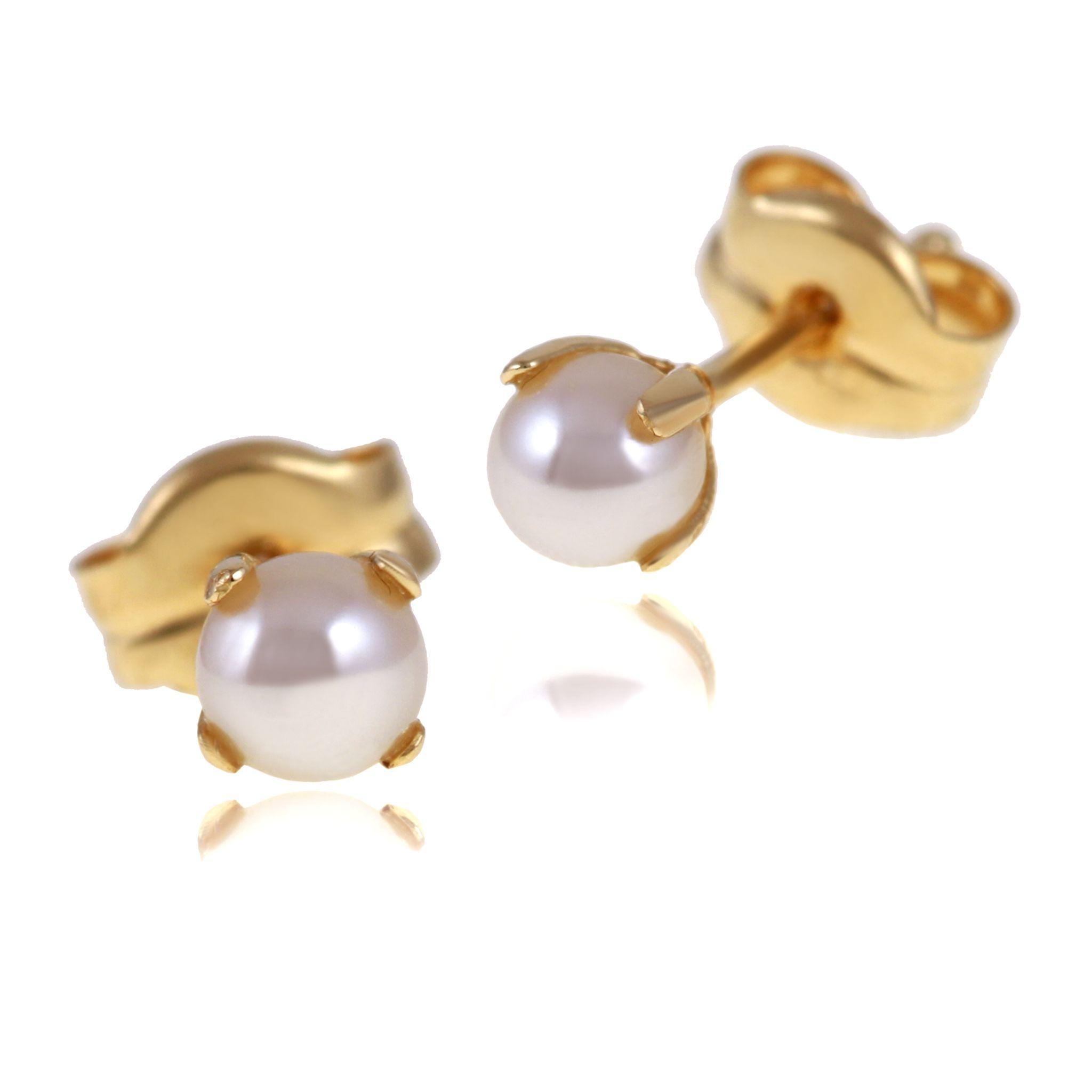 Boucle d'oreille perle de culture leclerc