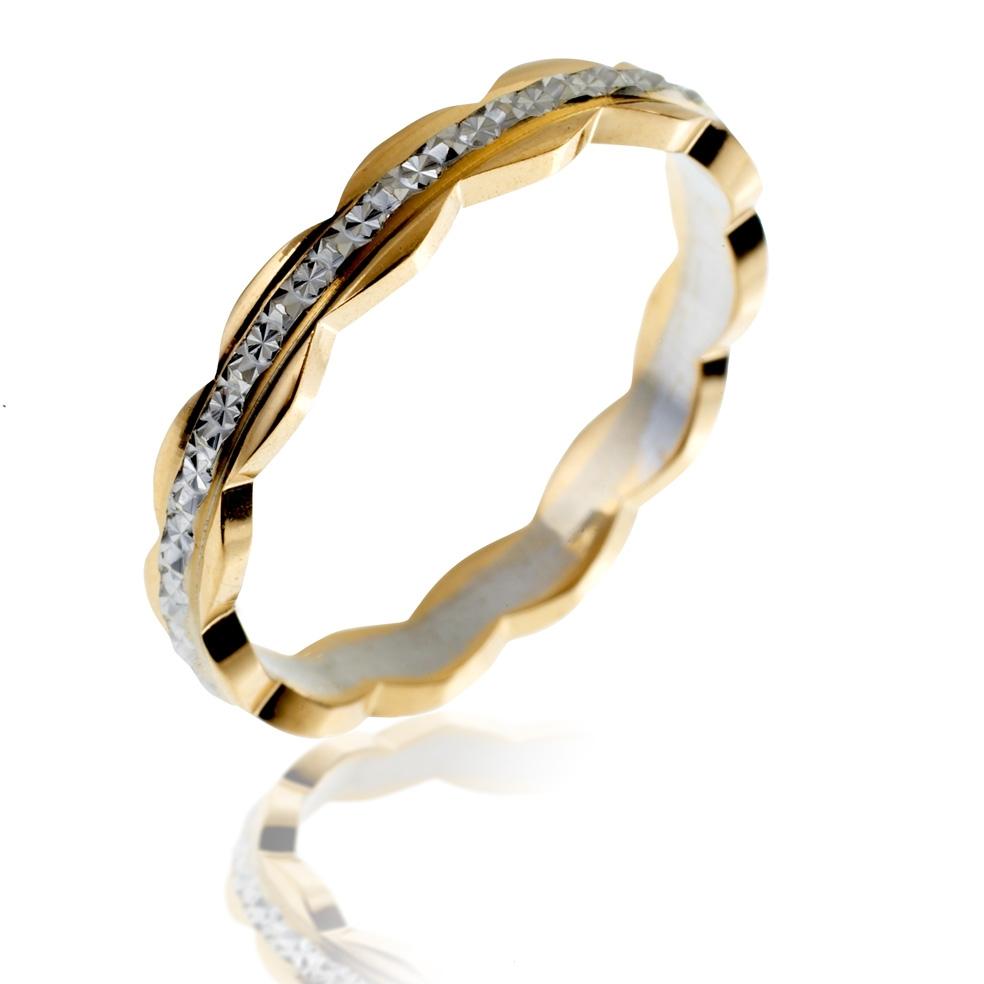 Préférence Achat Alliance Femme Or 2 ors 3.37 g - Le Manège à Bijoux® ED73