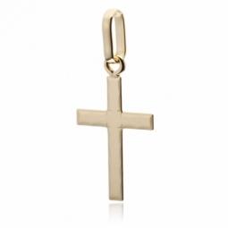 Croix en or jaune petit modèle
