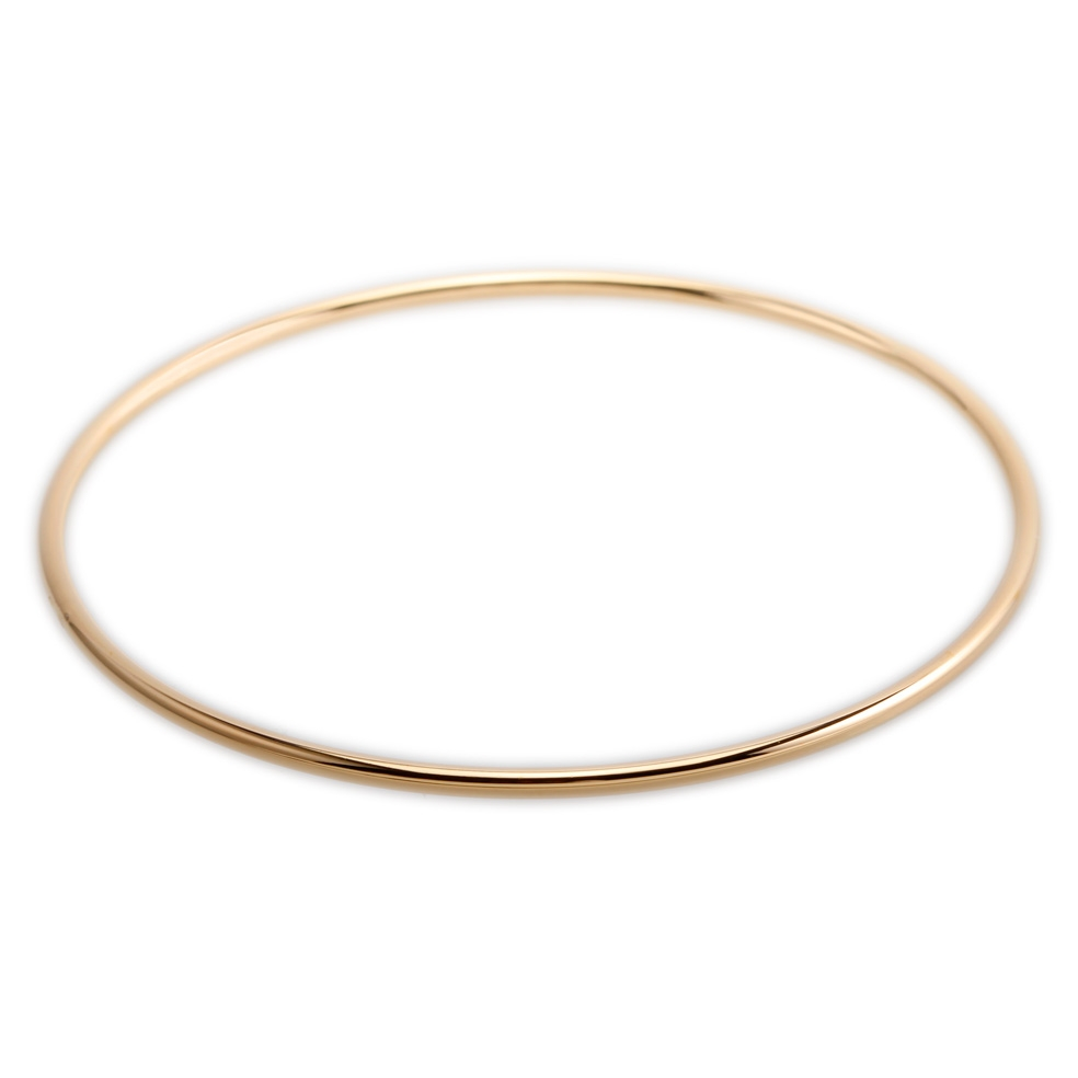 Bracelet en or jonc