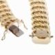 Bracelet en or jaune, maille americaine 15.5 mm - 15.9 mm - C