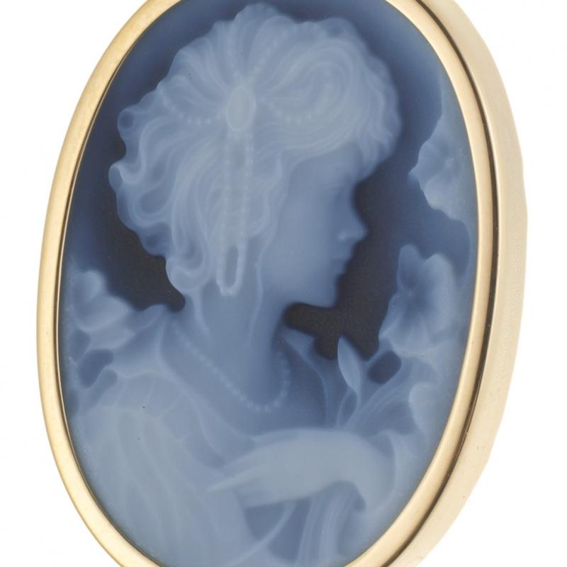pendentif camee le manège à bijoux leclerc