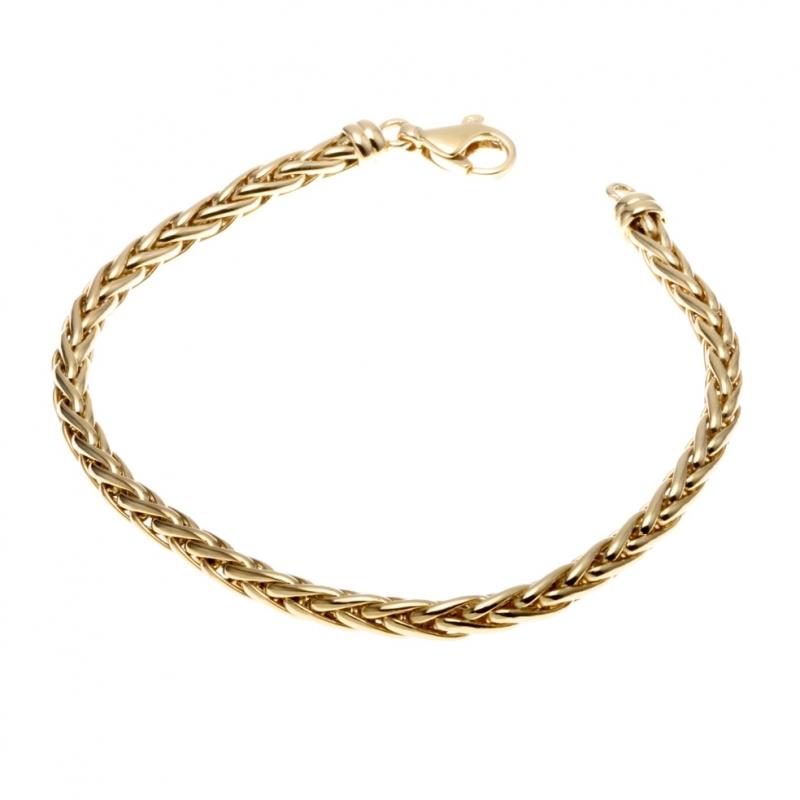 bracelet femme maille palmier