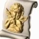 Médaille parchemin 2 ors, Ange - C