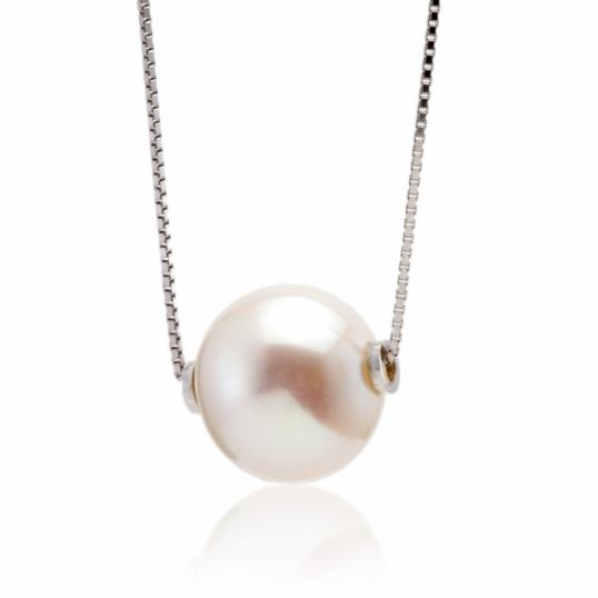 collier perle pour femme