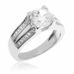 meilleur service grande remise jolie et colorée Achat de Bague femme en diamant, bague argent et or - Le ...