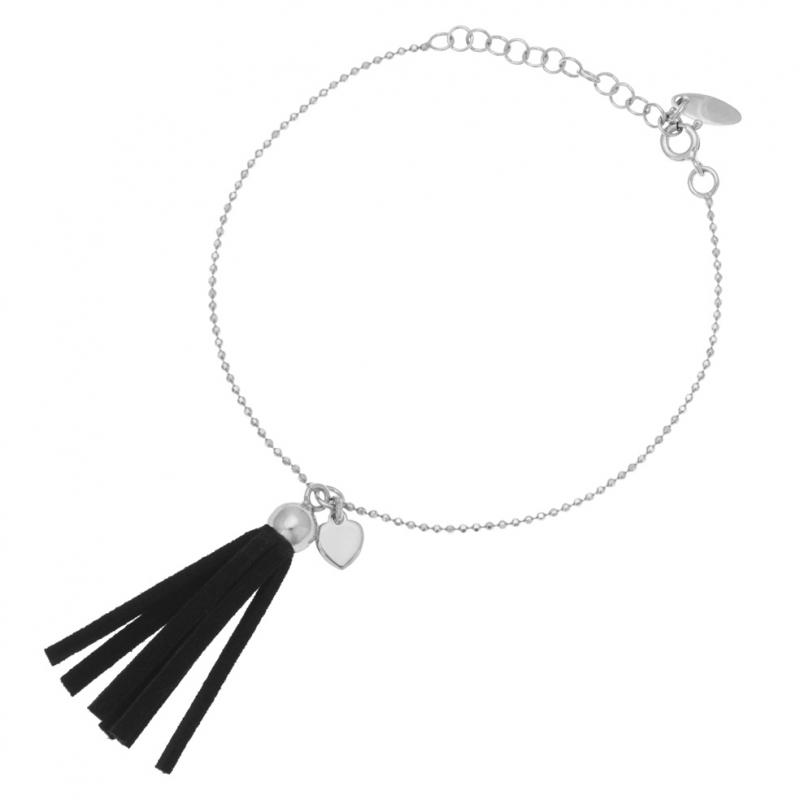 bracelet femme avec pompon