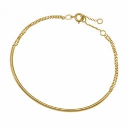 Bracelet en plaqué or