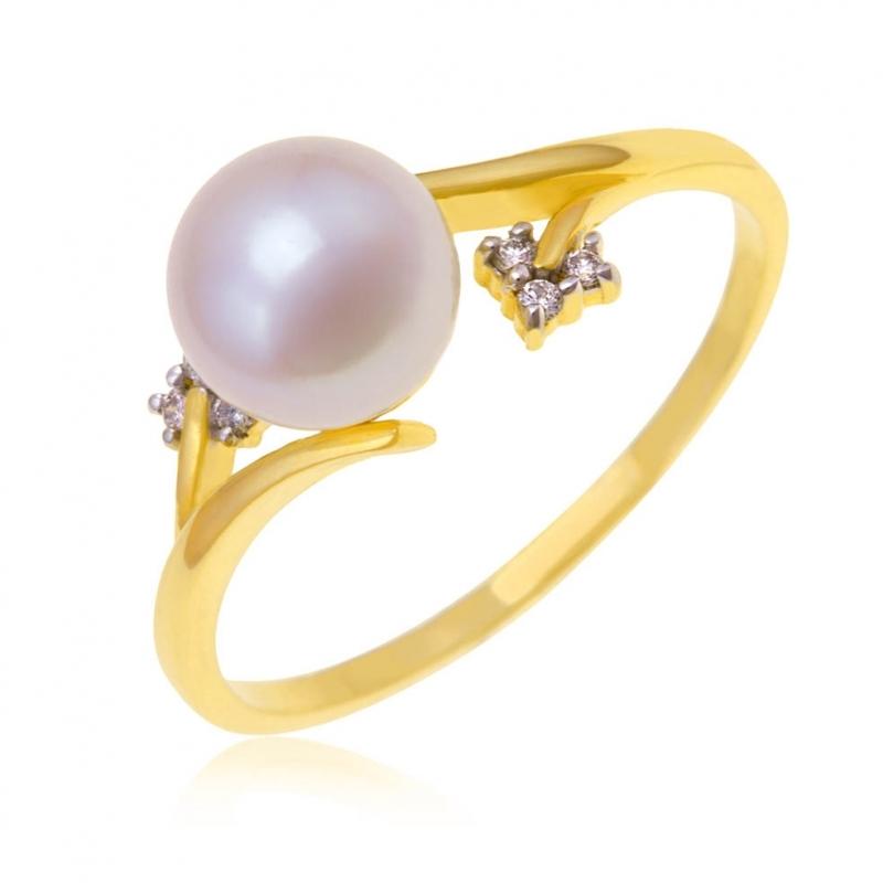 bague perle de tahiti manege a bijoux