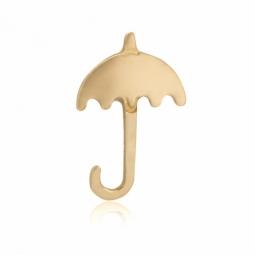 demi boucle en or jaune,parapluie