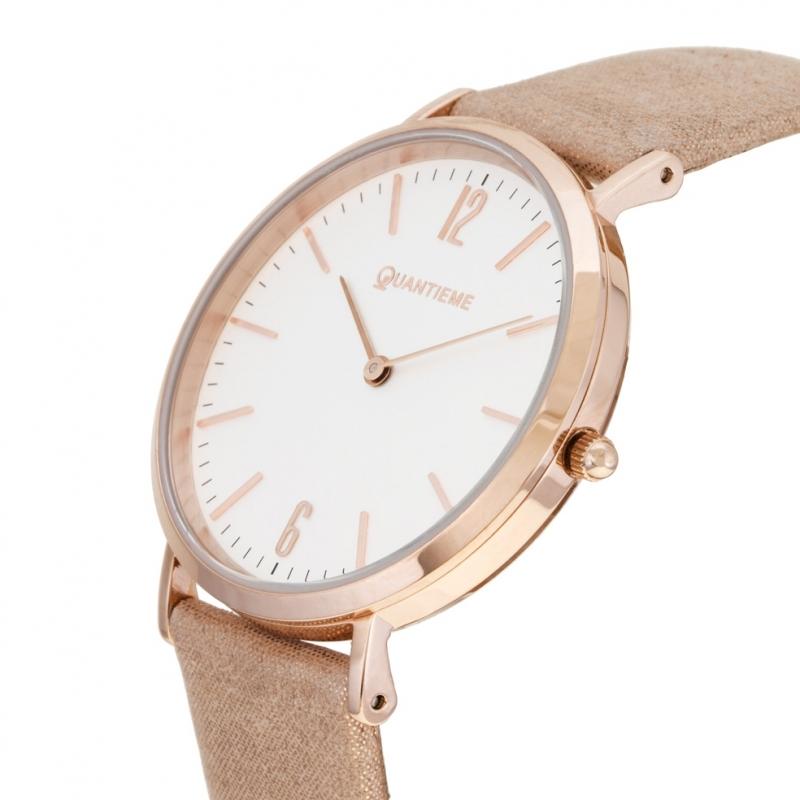 montres femmes bracelet cuir rose