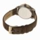 Montre, boite acier, bracelet cuir et alliage, verre minéral, girls - C