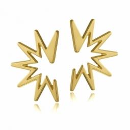 Boucles d'oreilles en or jaune