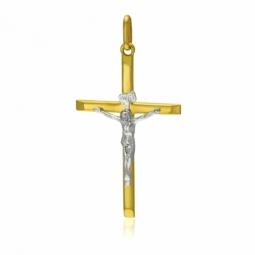 Croix en 2 ors, Christ