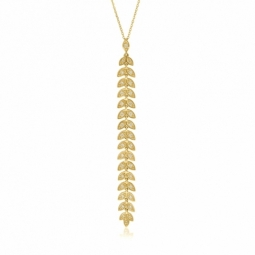 Collier en or jaune et diamants