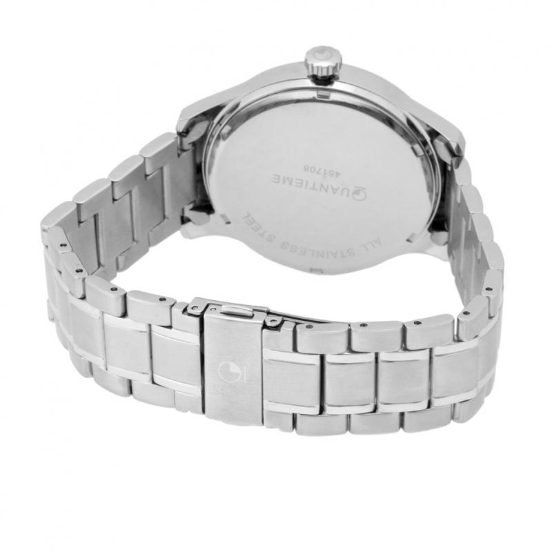 Achat Montre homme, boîte et bracelet acier et verre minéral