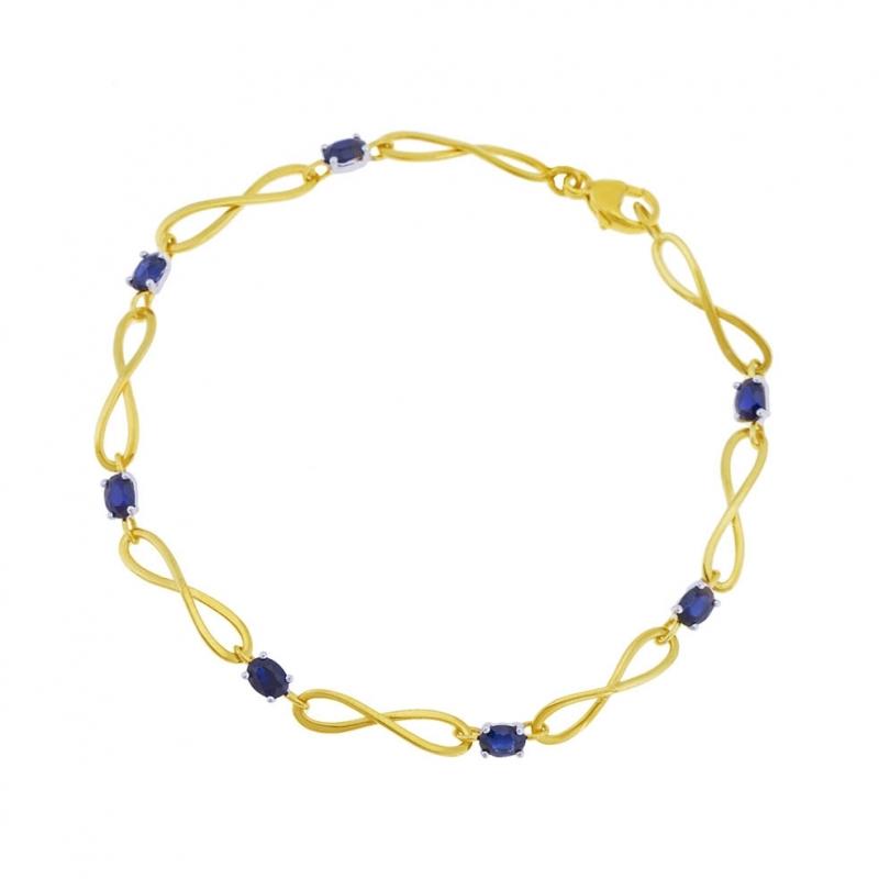 bracelet infini avec coeur manege a bijoux