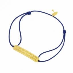 Bracelet cordon en or jaune, A peu de choses près, parfaite en tous points, Mary Poppins Disney