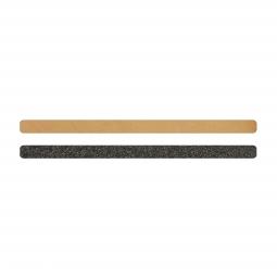 Simili cuir marron-pailleté pour bracelet jonc Méli Versa 10mm