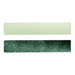 Simili cuir vert-pailleté pour bracelet jonc Méli Versa 30mm