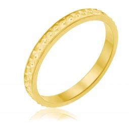 Alliance en or jaune  fantaisie 2.5 mm