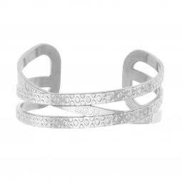 Bracelet jonc en acier, love