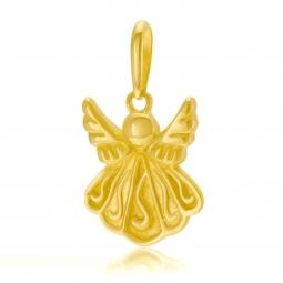 Pendentif en or jaune, ange