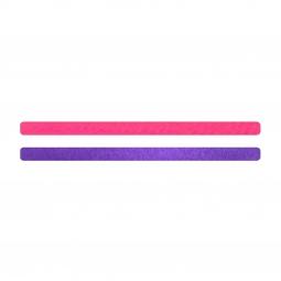 Simili cuir rose fluo-violet pour bracelet jonc Méli Versa 10mm