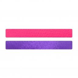 Simili cuir rose fluo-violet pour bracelet jonc Méli Versa 20mm
